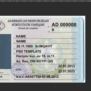 Buy Azerbaijan driving licence