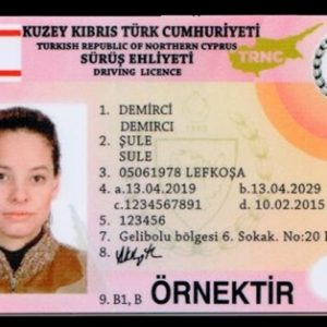 Buy Cyprus driving licence