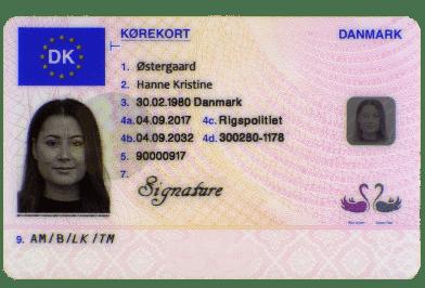 buy Danish driving license