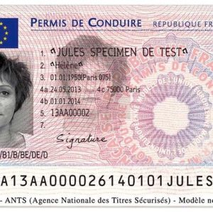 buy French driving license