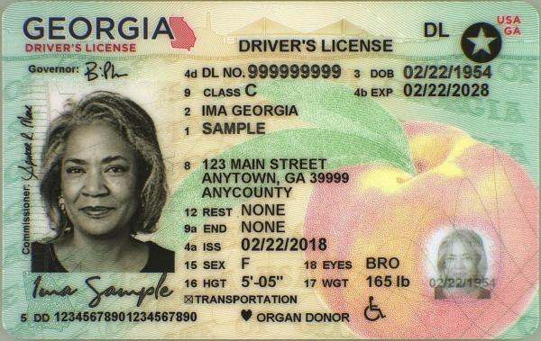 Buy Georgia driving licence