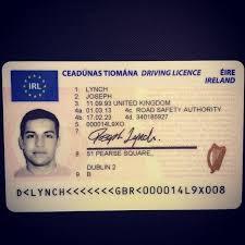 buy Ireland driving license