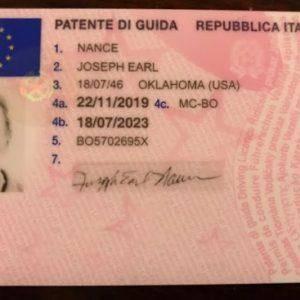 buy Italian driving license