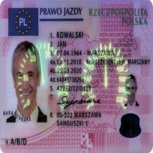 buy Polish driving license