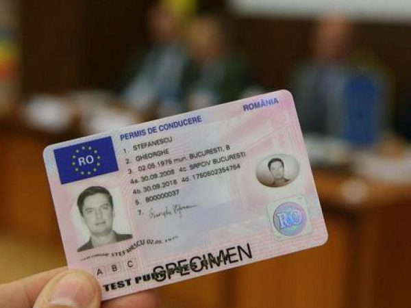 Buy Romanian driving licence