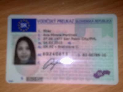 buy Slovakia driving license