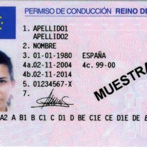 buy Spanish driving license