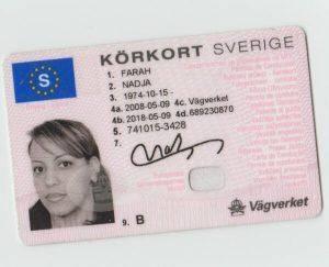 buy Swedish driving license