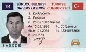 Buy Turkish driving licence